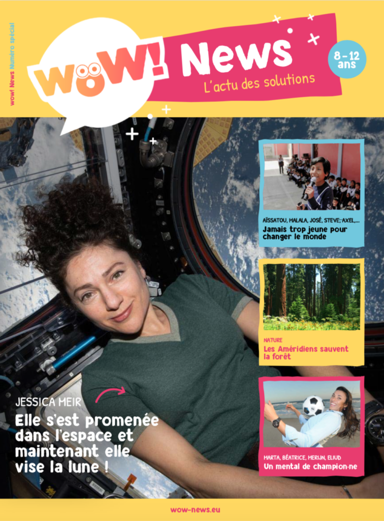 wow couverture premier magazine positif pour enfants ulule  cadeaux différents noël enfants