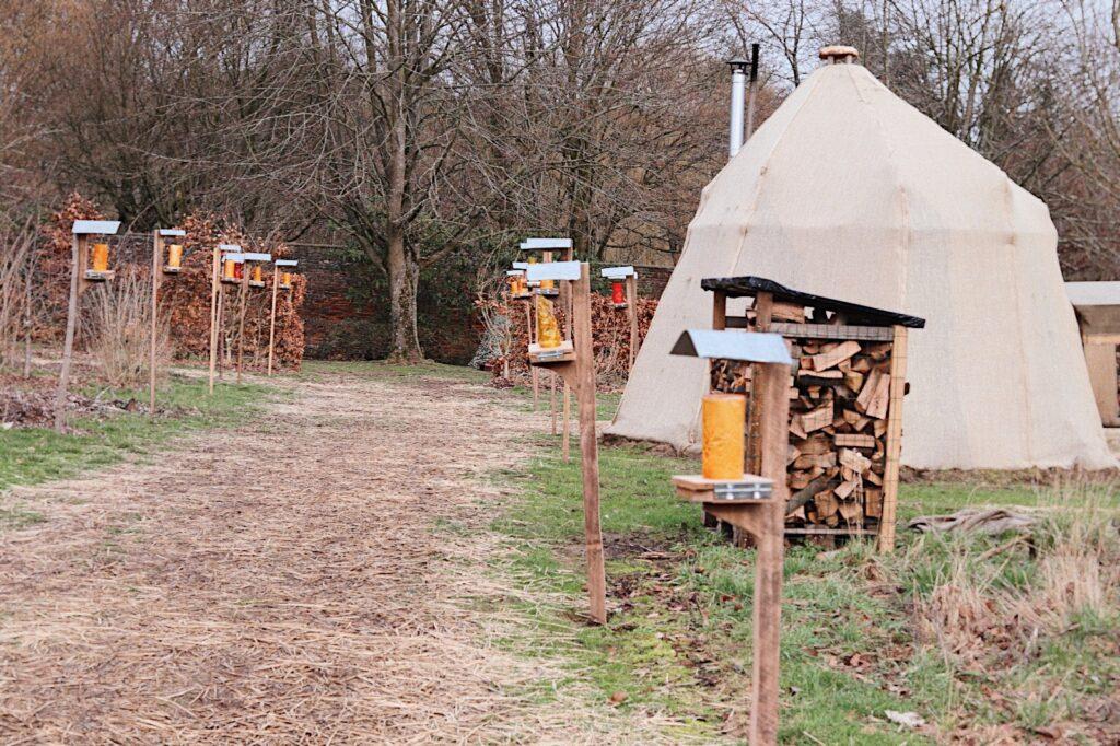 hutte privée b&b park 7