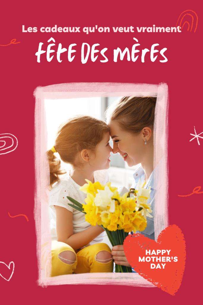 cadeaux fête des mères pinterest