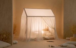 décorer un lit cabane
