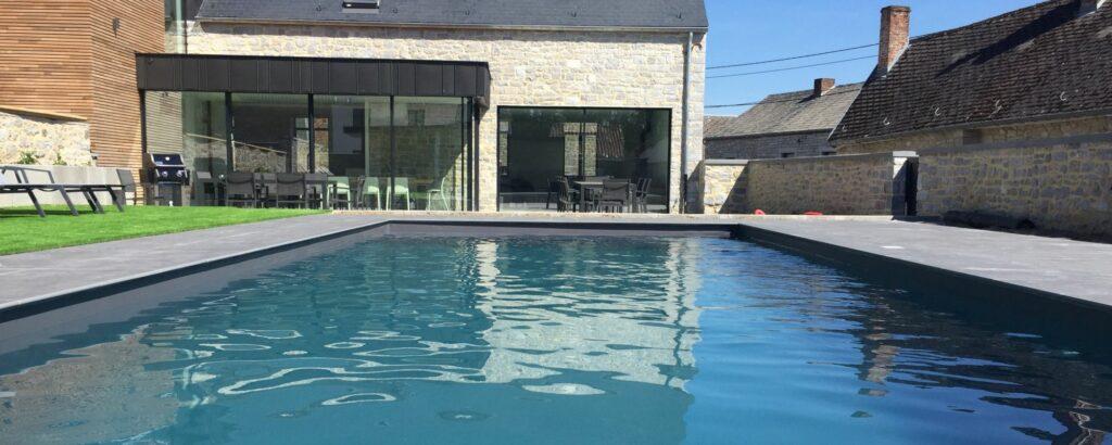 piscine du presbytère de sautour